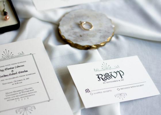Allocco Design Norfolk, VA Calligraphy | Wedding Calligraphy Invitations