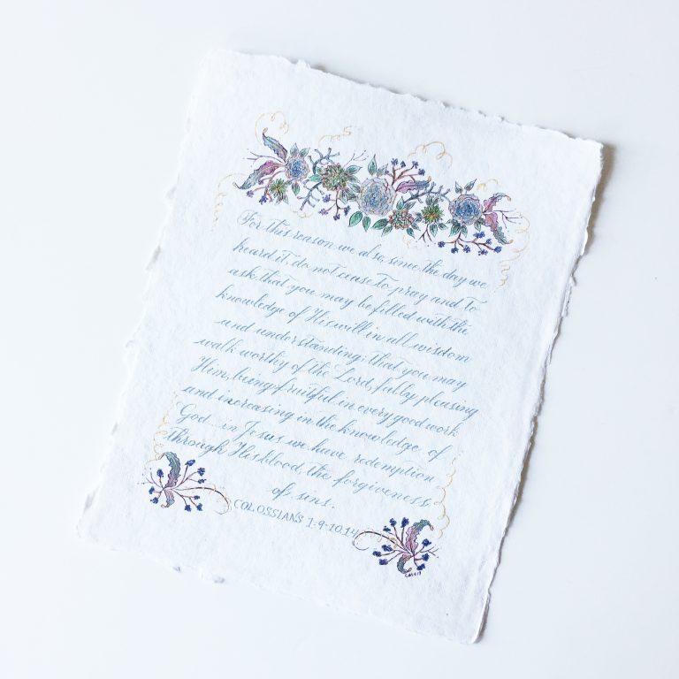 CalligraphyHeirloomAlloccoDesign