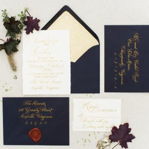 Garden themed invitation